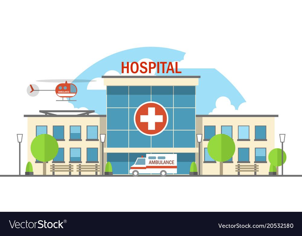 Flat hospital Royalty ...