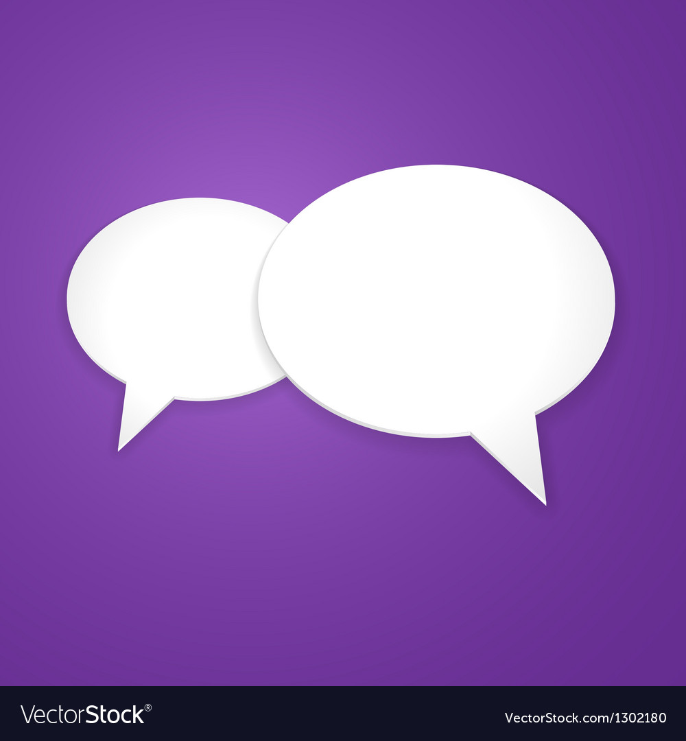 Speech Bubble Background Icon