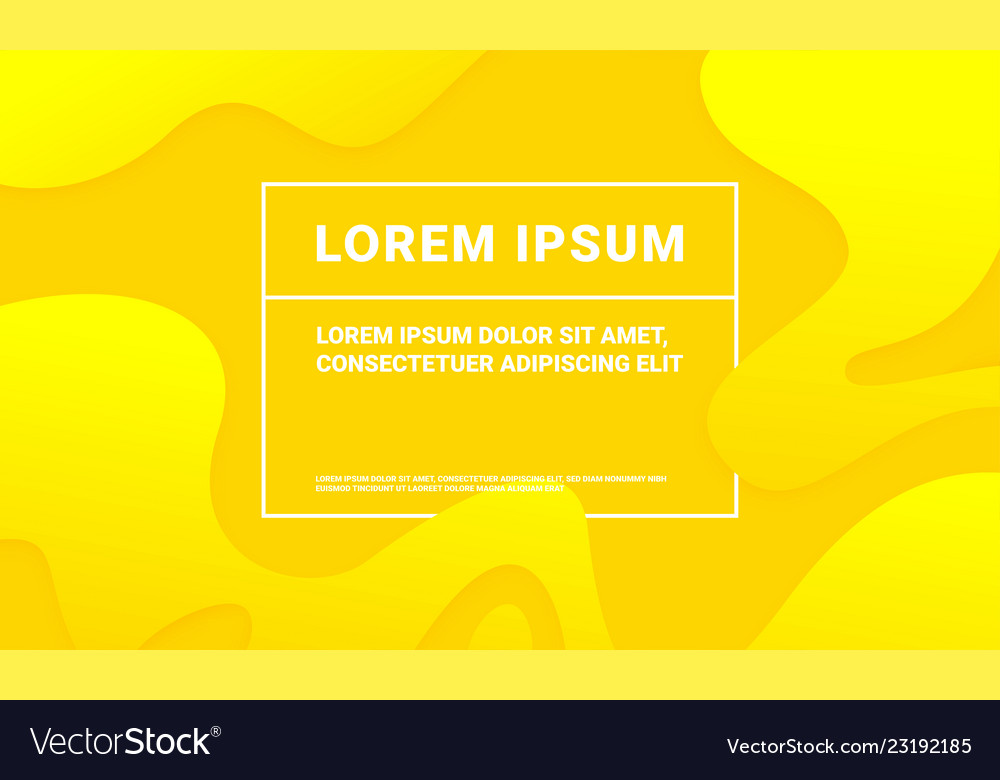 Abstract yellow background with soft fluid color