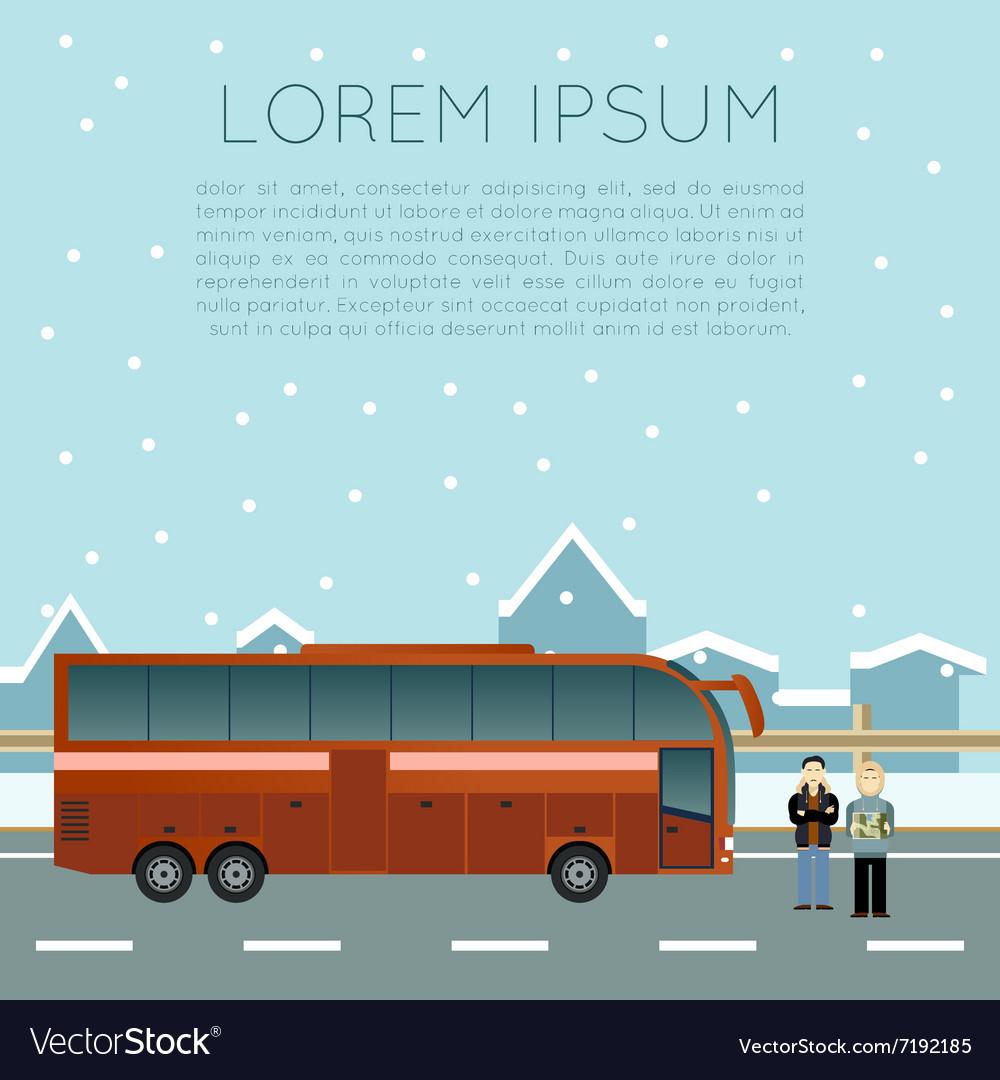 Bus trip banner