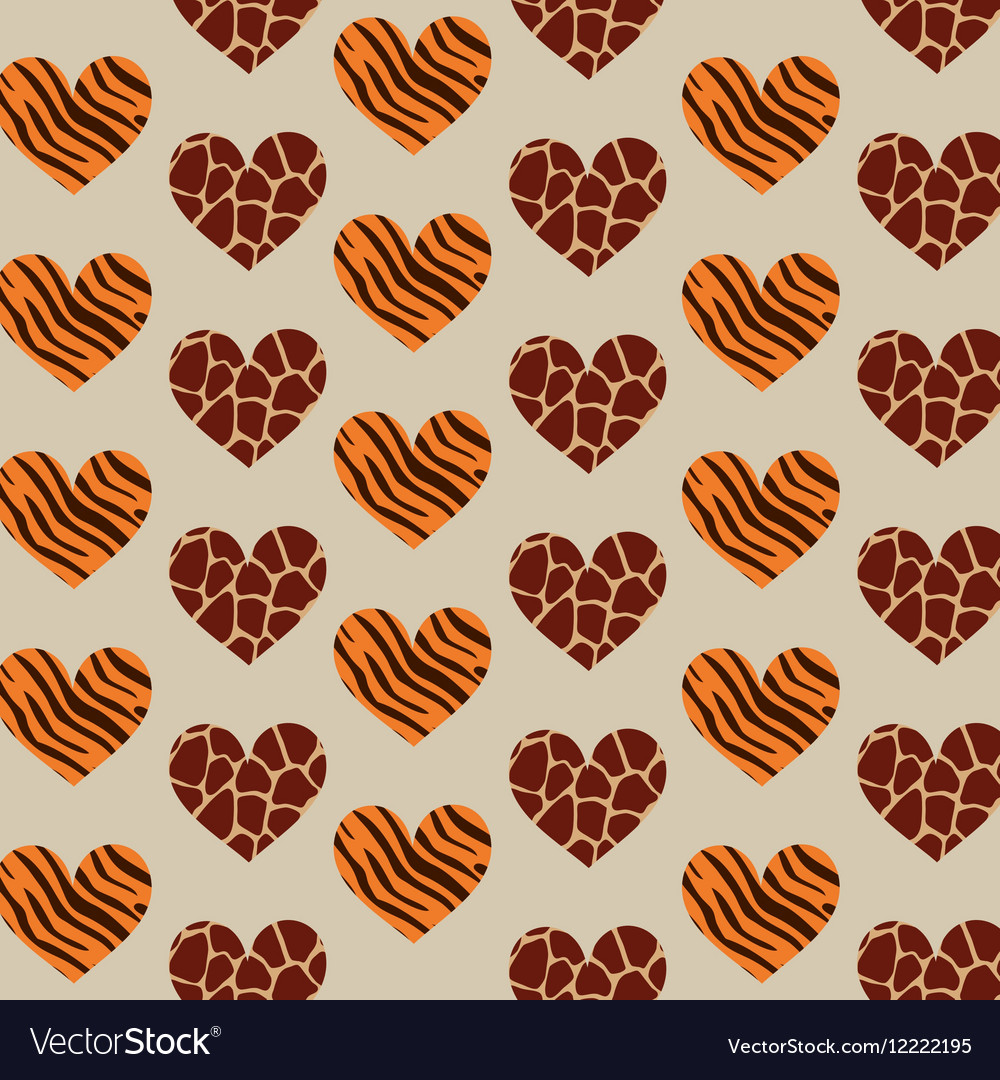 6a9fba21d7 Animal print pattern image Royalty Free Vector Image