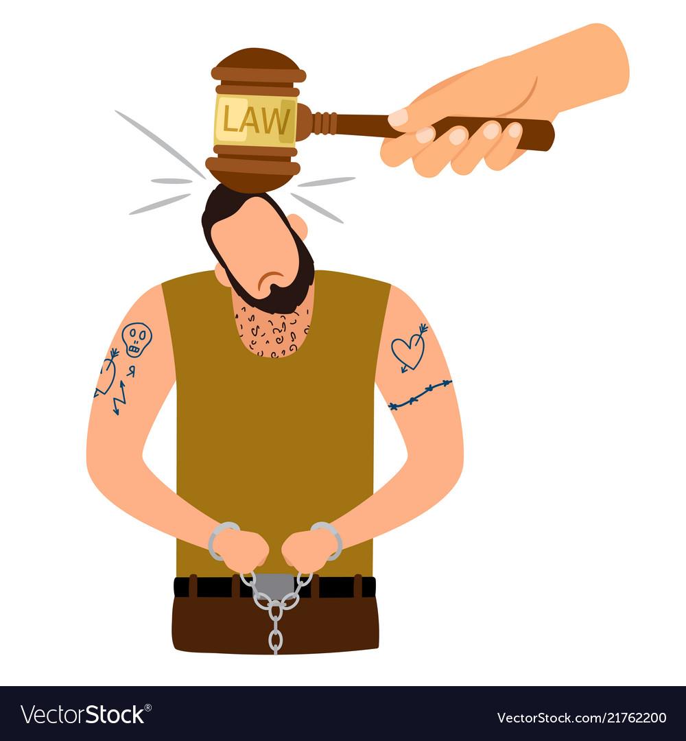 Criminal punishment concept