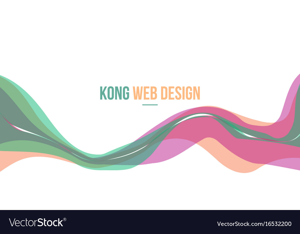 header website abstract background modern style vector image