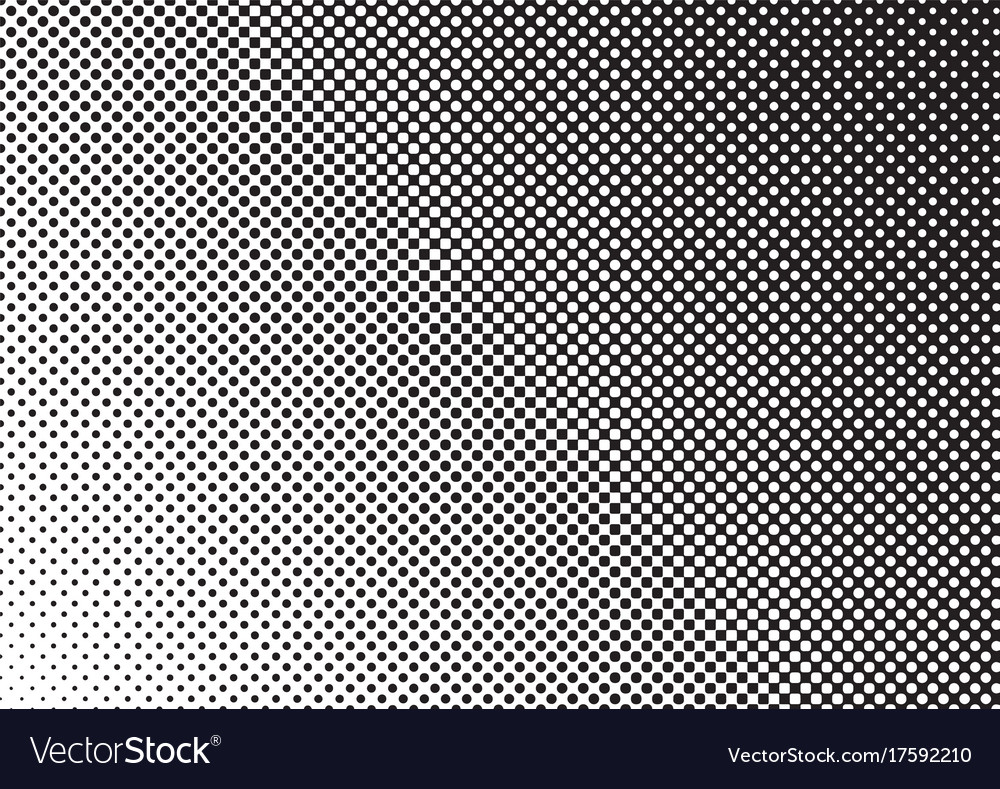 Halftone background gradient of dots