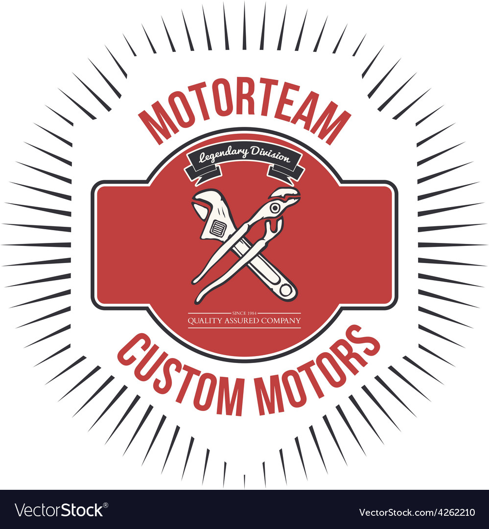 Motorteam Custom motors T-shirt graphic