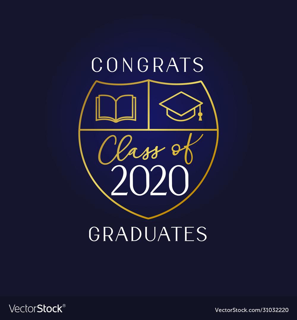 Class 2020 book and academic cap