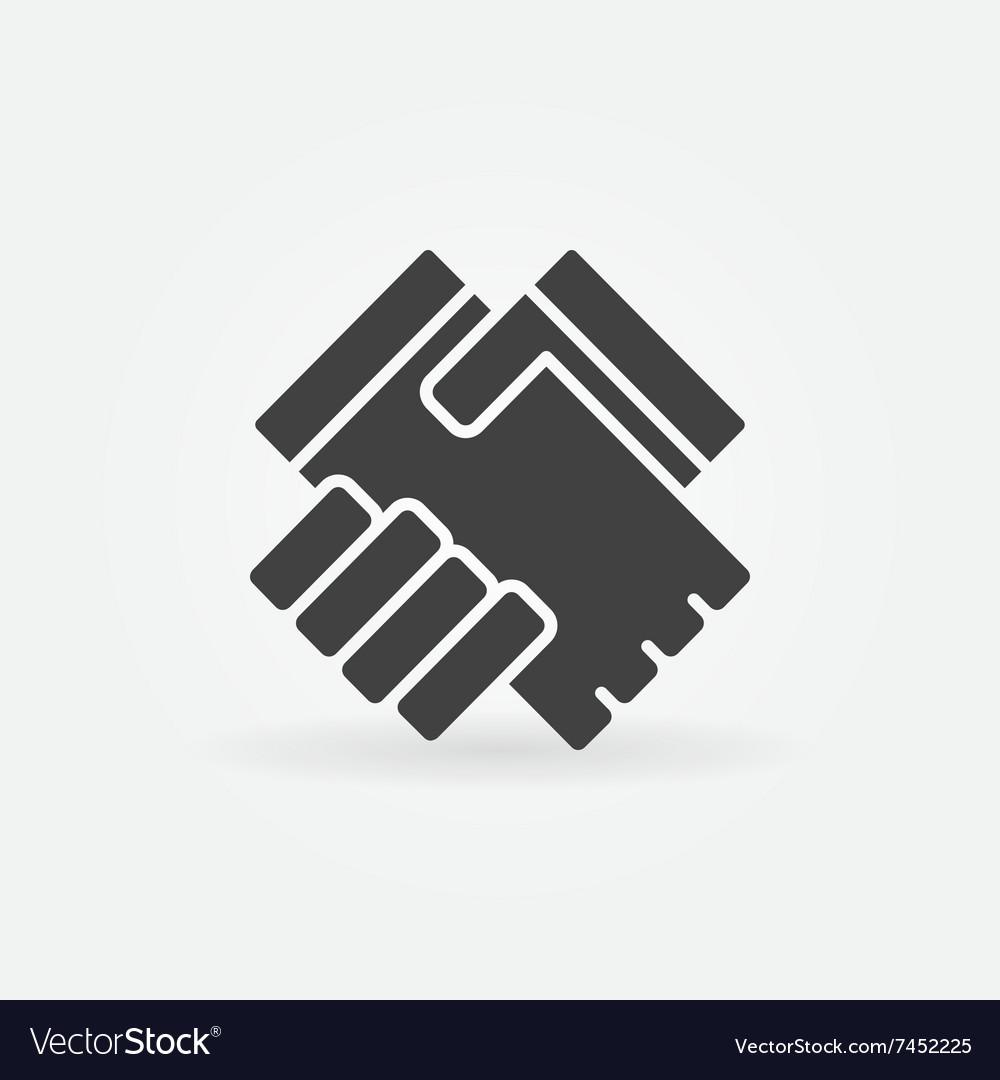 Handshake icon or logo