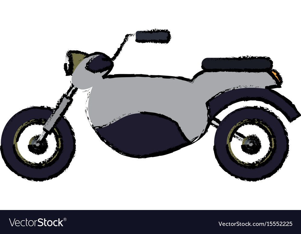 Motorcycle speed vehicle transport icon