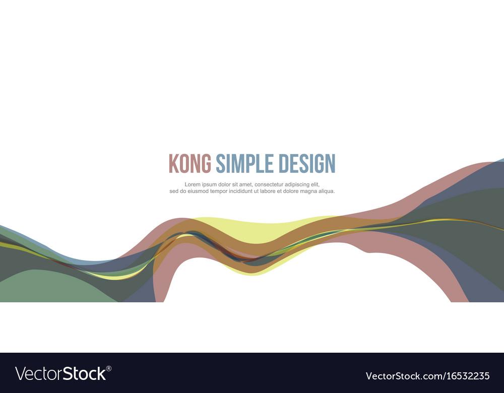 Banner header website abstract modern design vector image