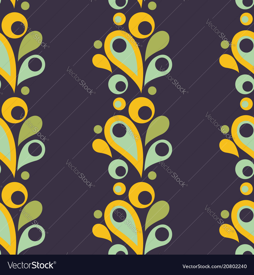Abstract colorful seamless pattern with drop