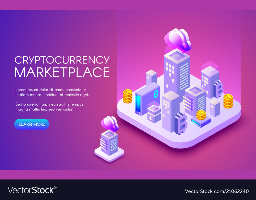 Cryptocurrency bitcoin marketplace