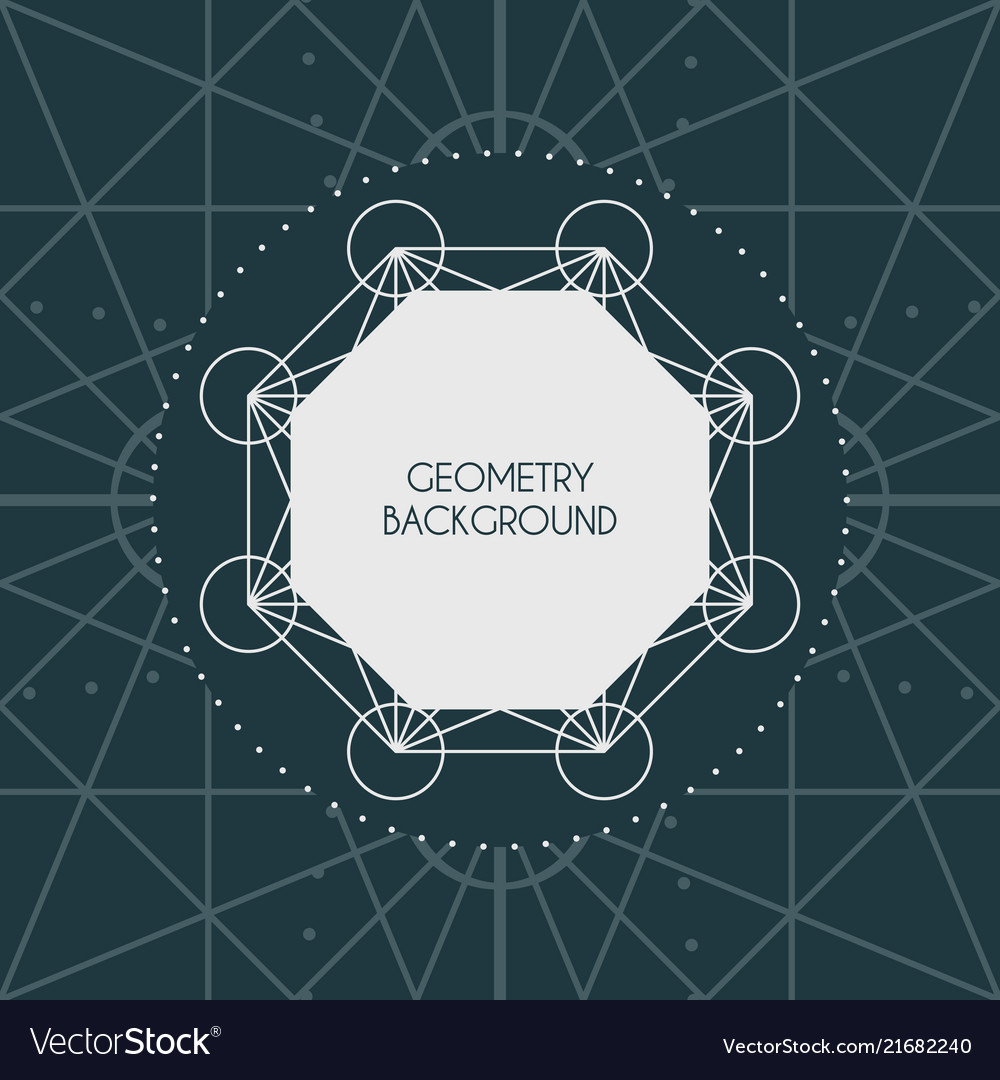 Magic geometry background