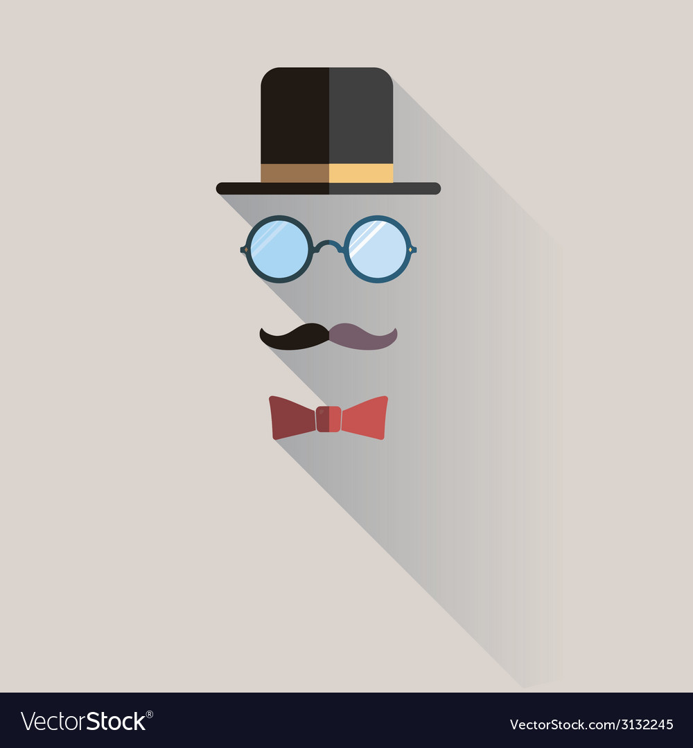 b034e98cf74558 Gentlemen vintage man design element Royalty Free Vector