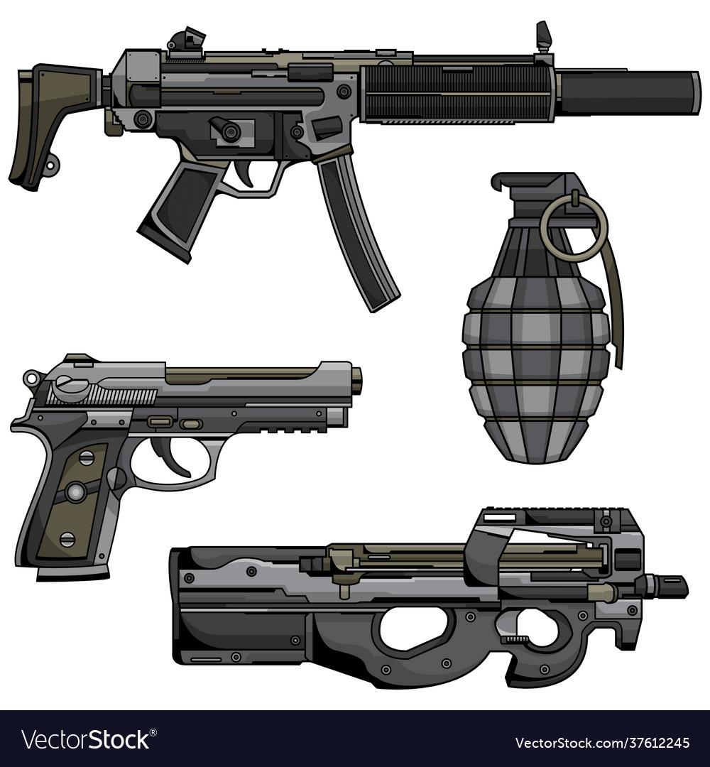 Modern machine gun