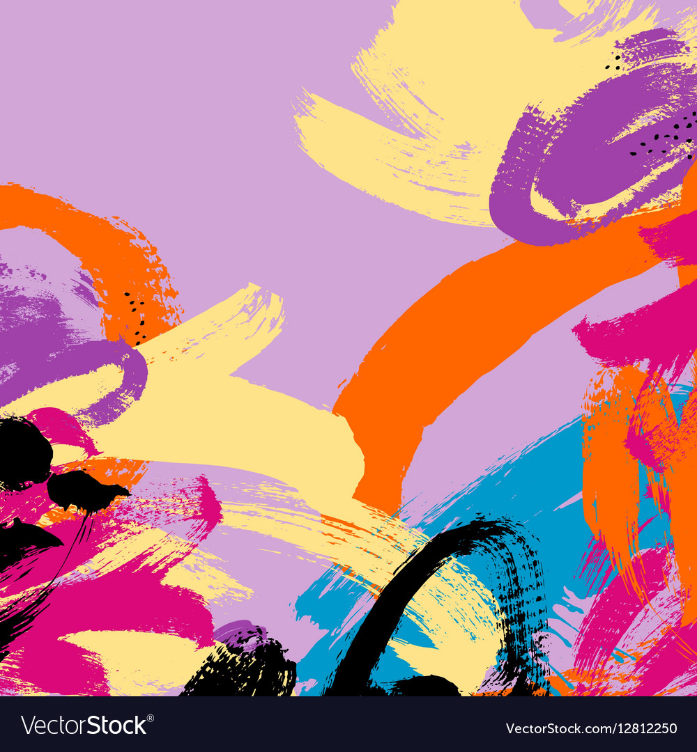 Abstract painting brush stroke pattern background