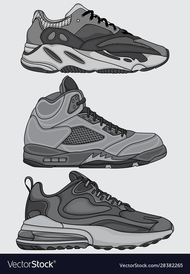 Printset sneakers design