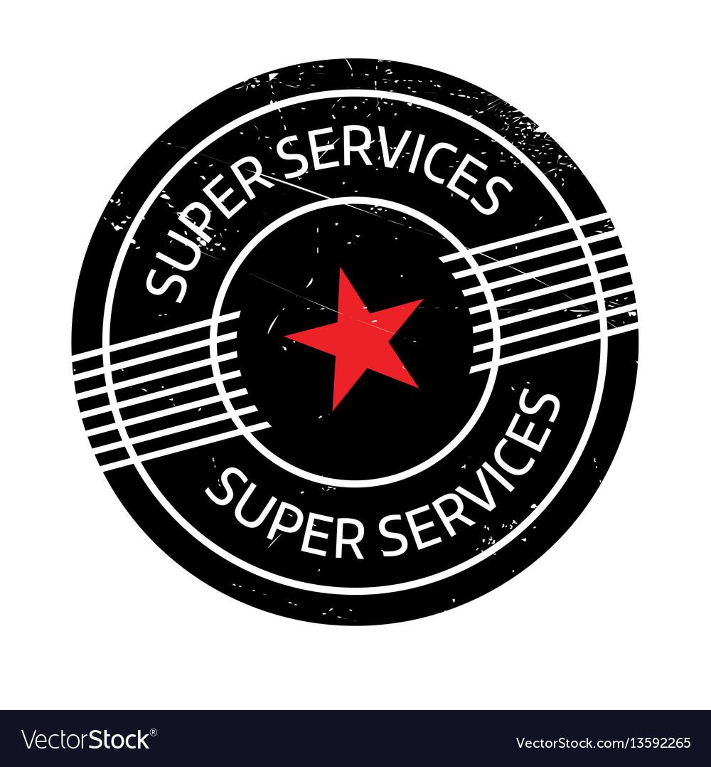 Super services rubber stamp