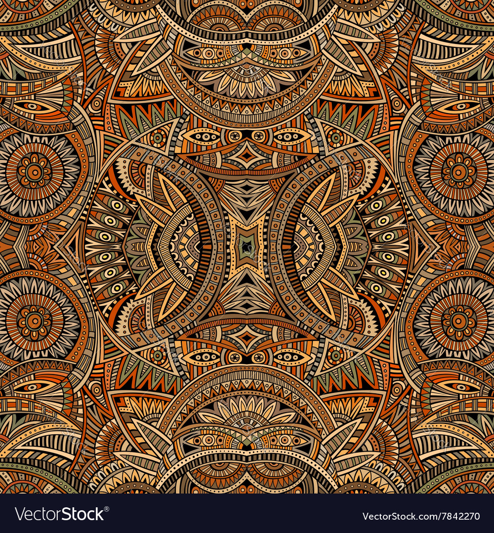 Abstract tribal ethnic background