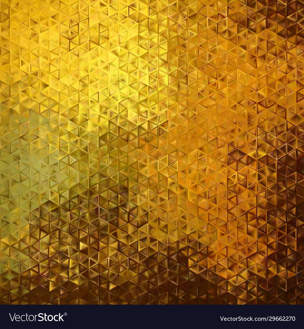 Golden texture geometric background