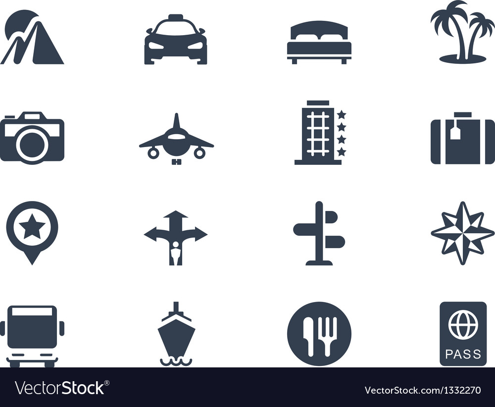 Trave icons