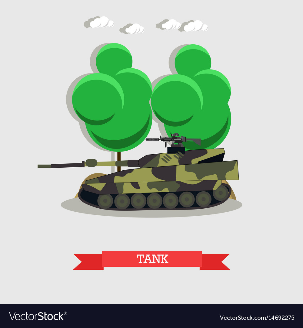 Armored tank military