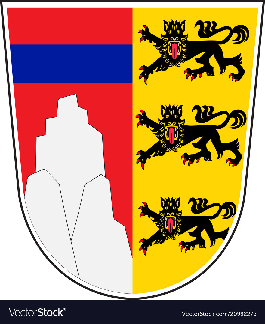 1x STICKER Fussen GERMANY COAT OF ARMS