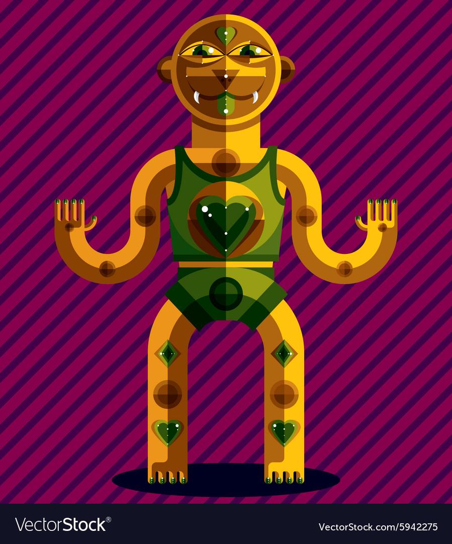 Spiritual totem meditation and yoga theme d