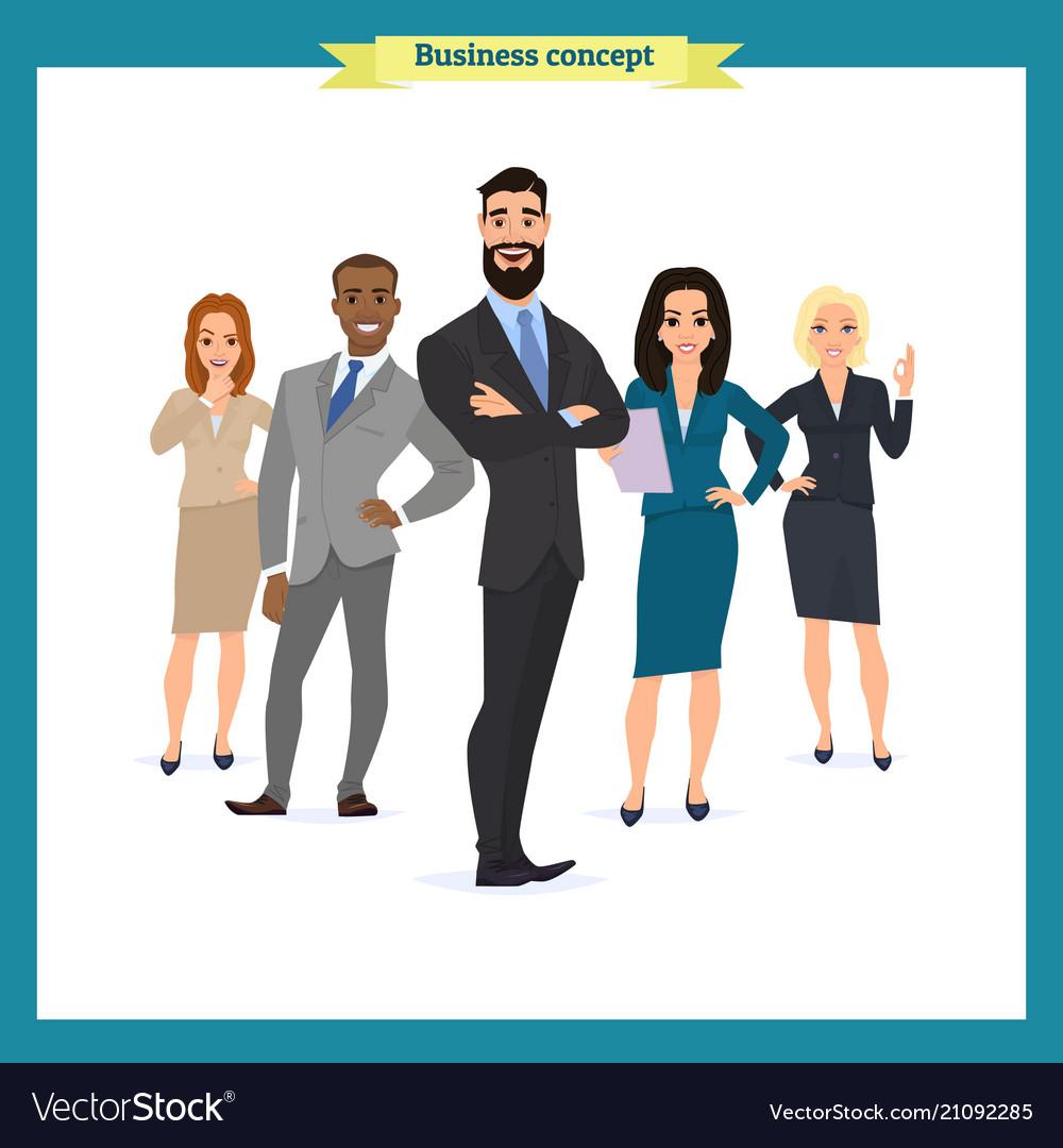 Business people teamwork business team