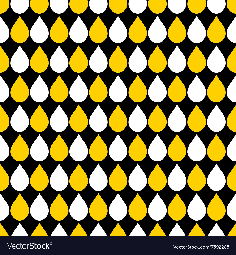 Yellow White Black Water Drops Background