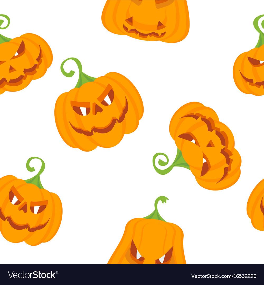 Pattern color pumpkins