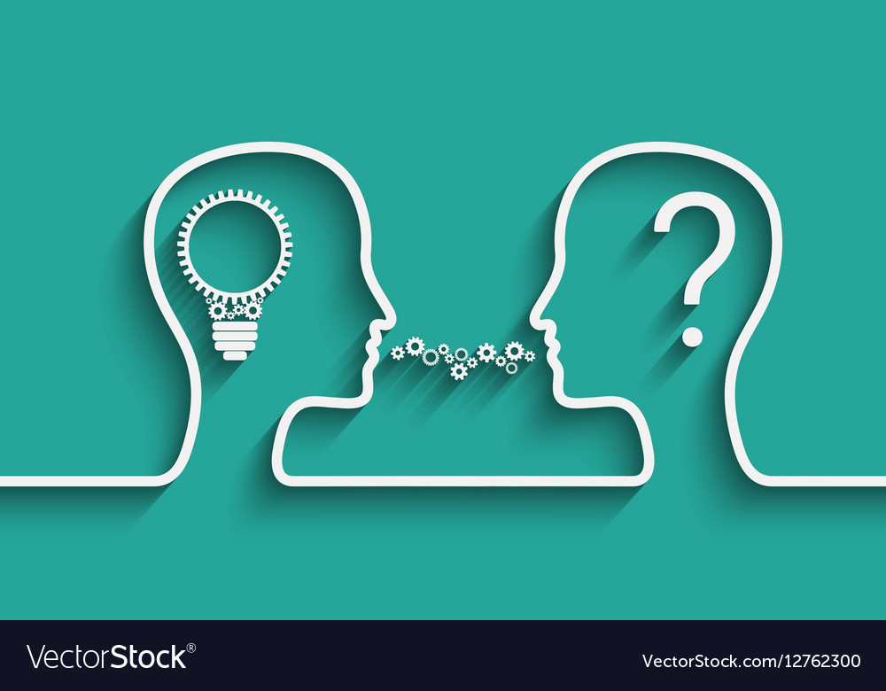 Creating Idea concept vector image