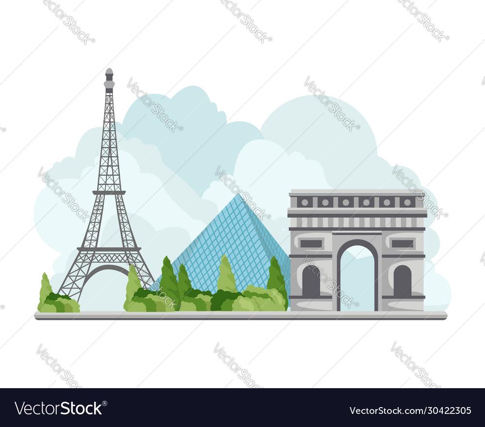 France travel landmarks