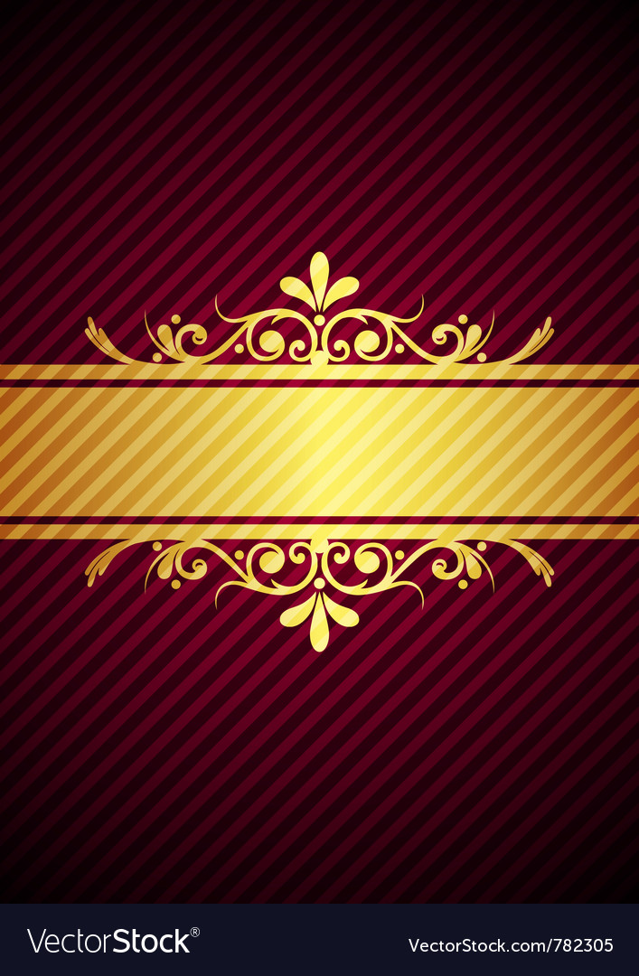 Gold bourdeaux background