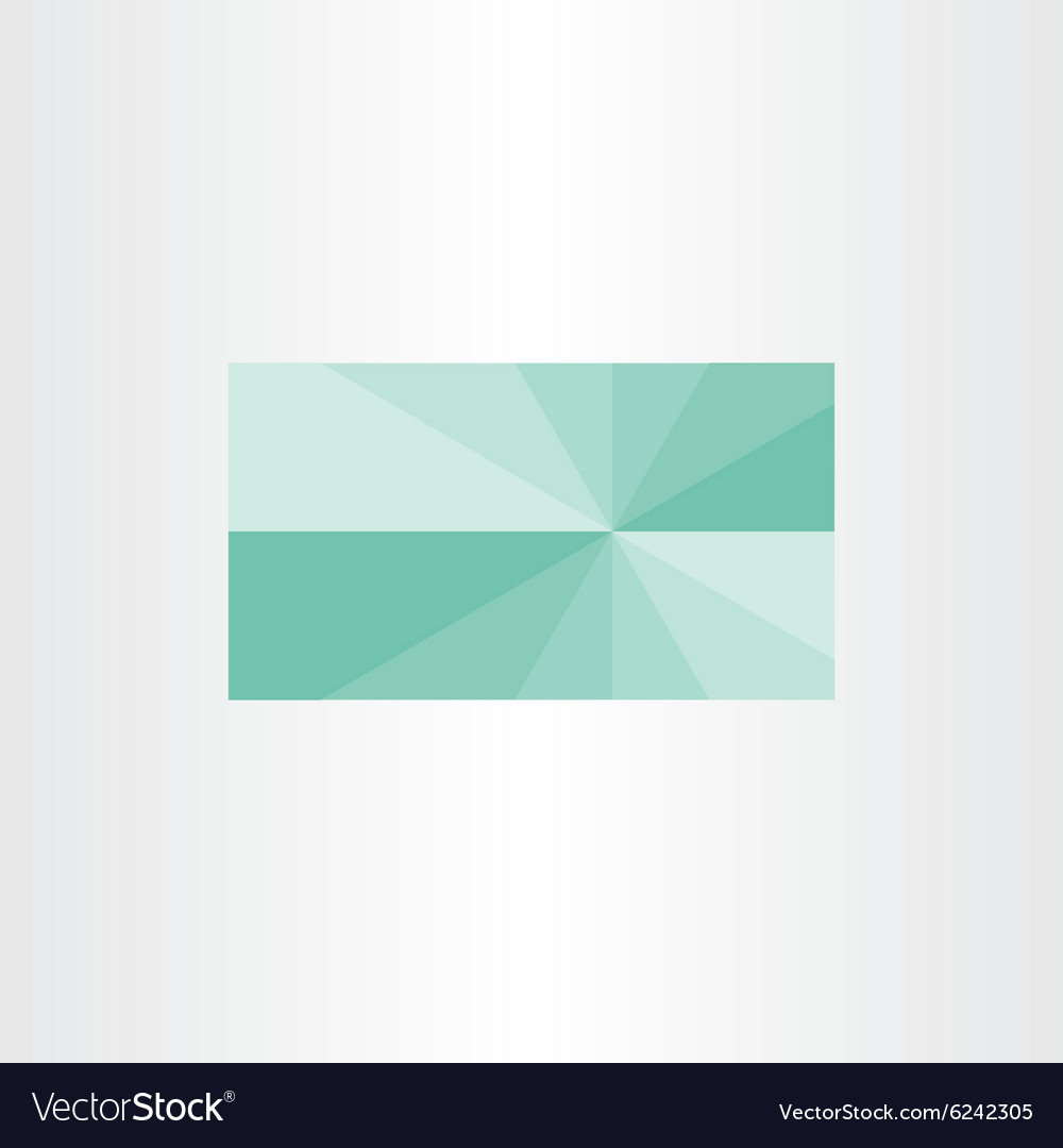 Green Business Card Template Background Design Vector Image