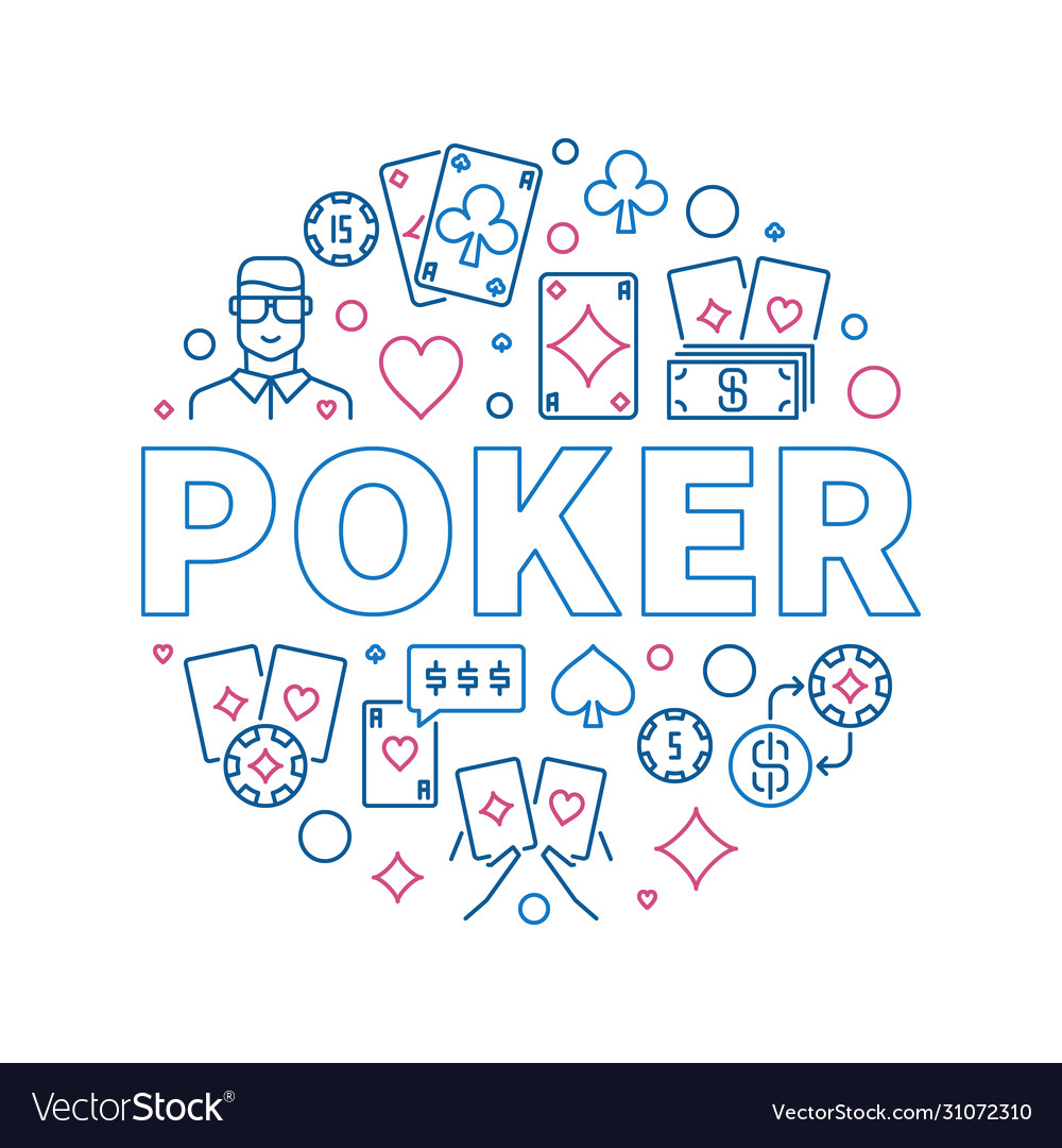 Poker round creative outline
