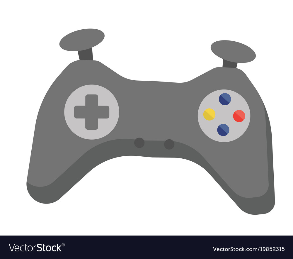 Video Game Controller Cartoon Royalty Free Vector Image