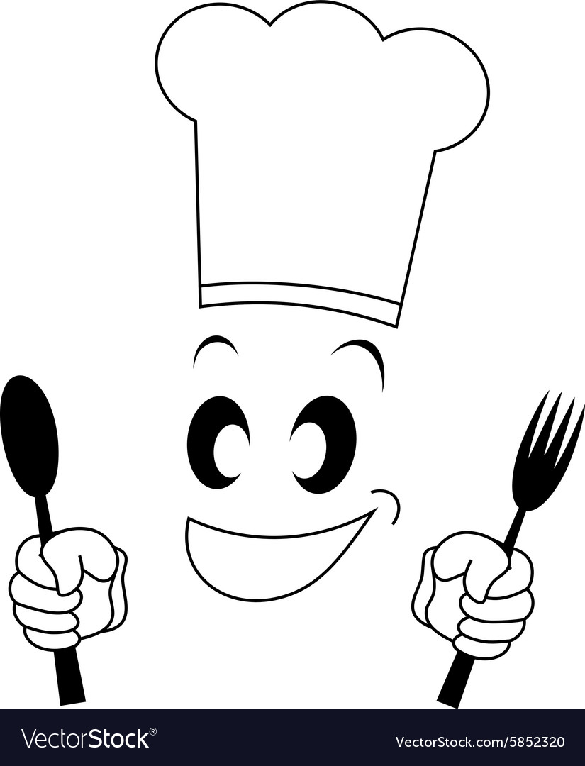 Funny chef symbol