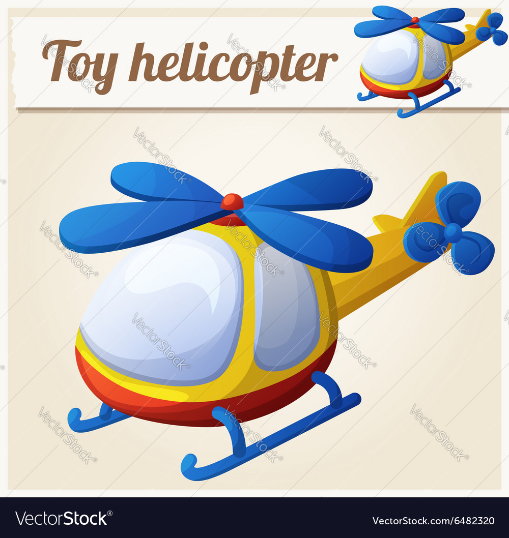 Toy helicopter Cartoon