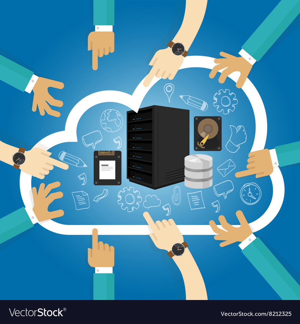 Iaas infrastructure as a service shared hosting