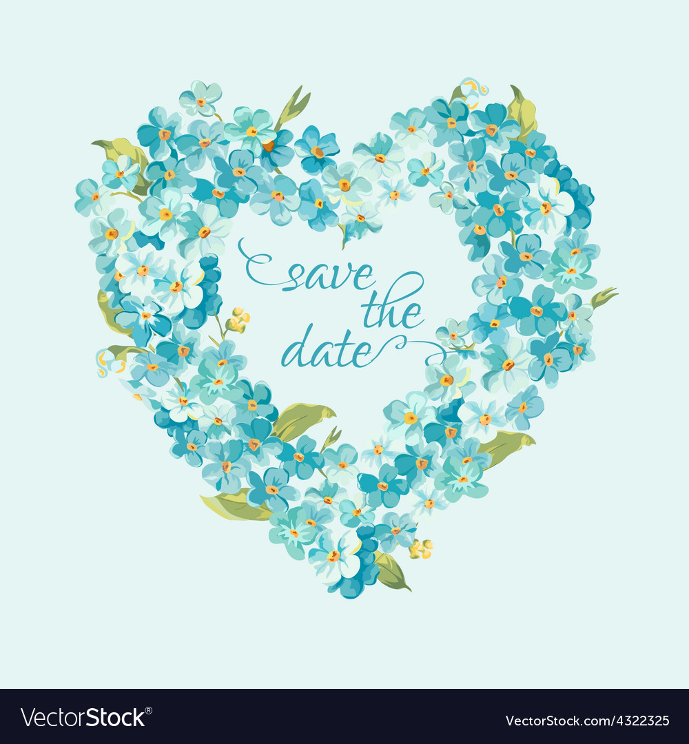 wedding invitation card save the date royalty free vector