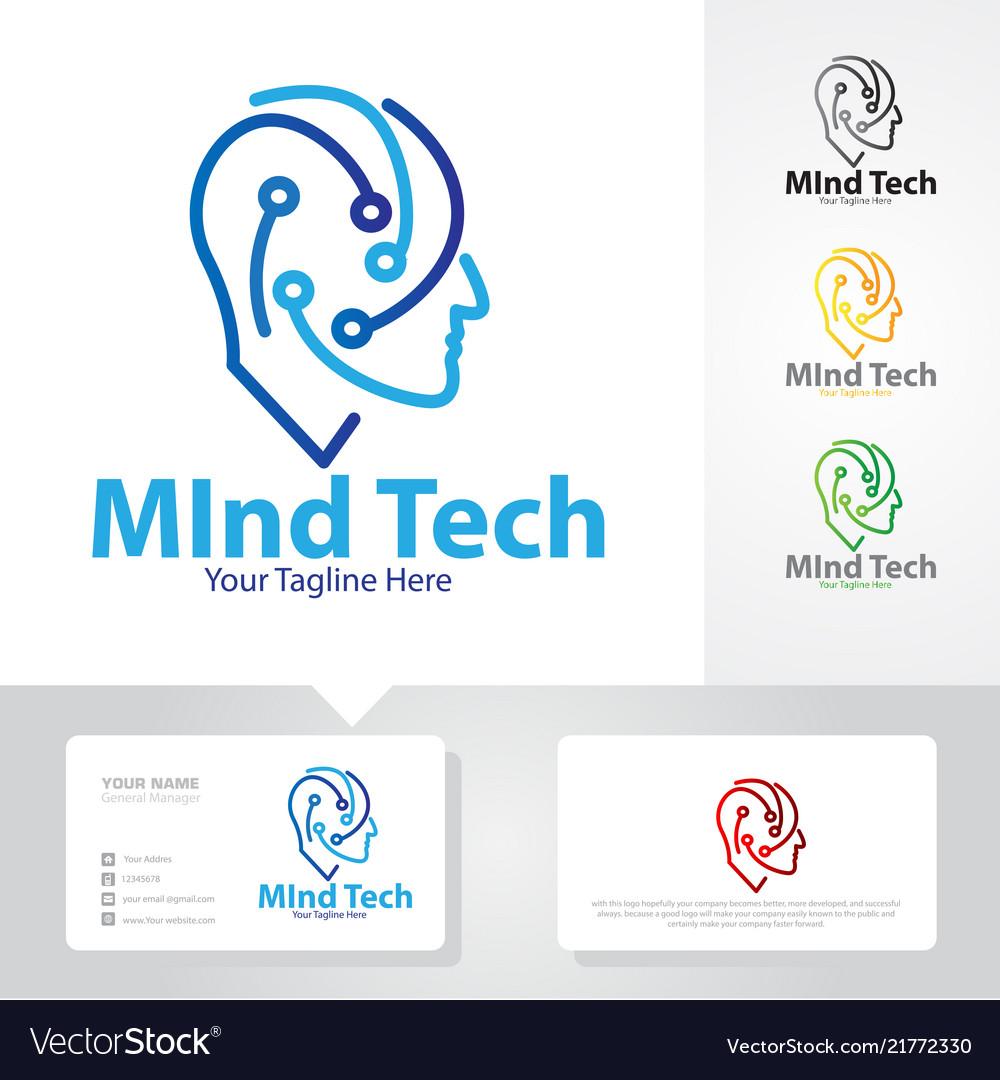 Mind tech logo designs