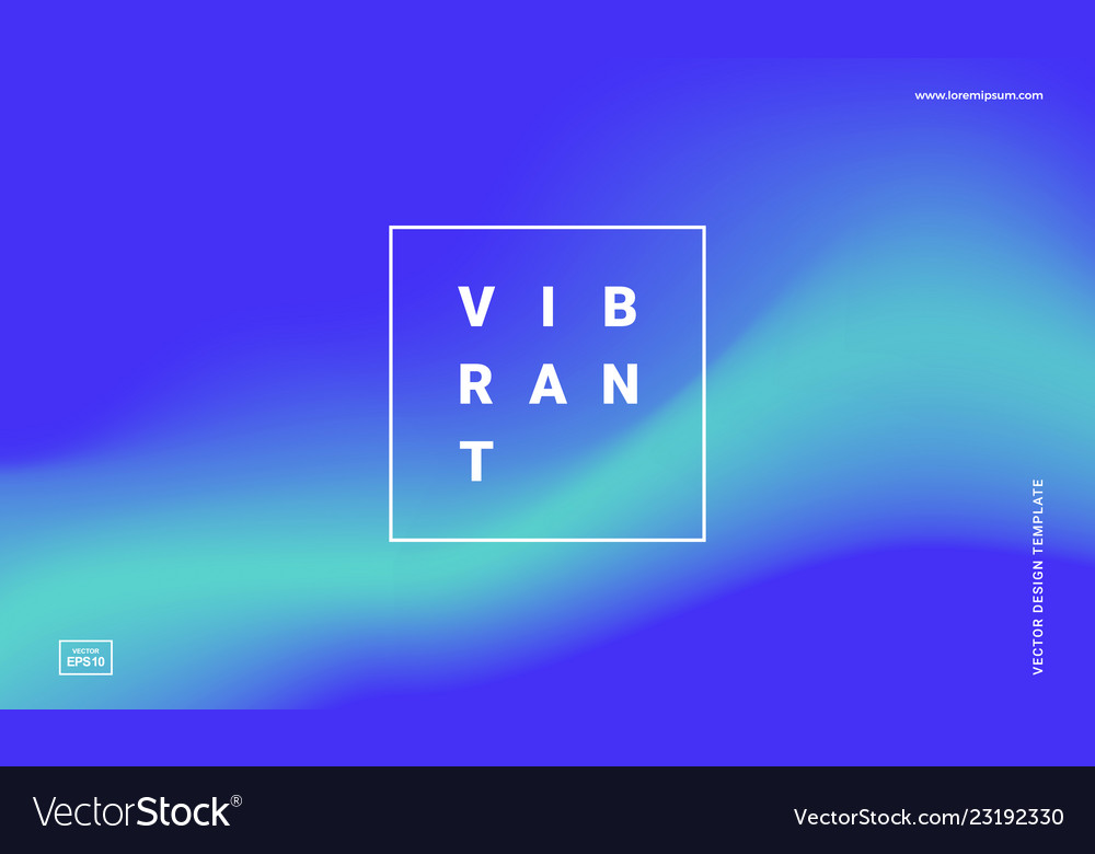 vibrant gradient backgrounds royalty free vector image