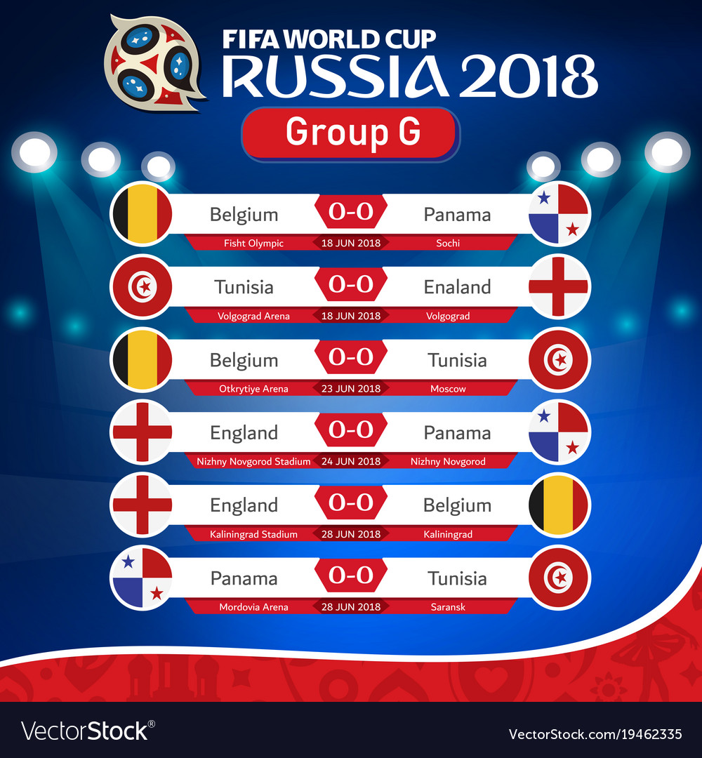 Fifa World Cup Fixtures