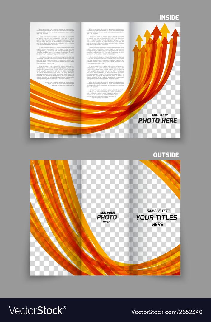 Arrows tri-fold brochure
