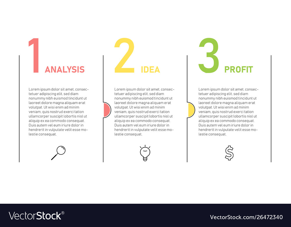 Infographic template for business presentation