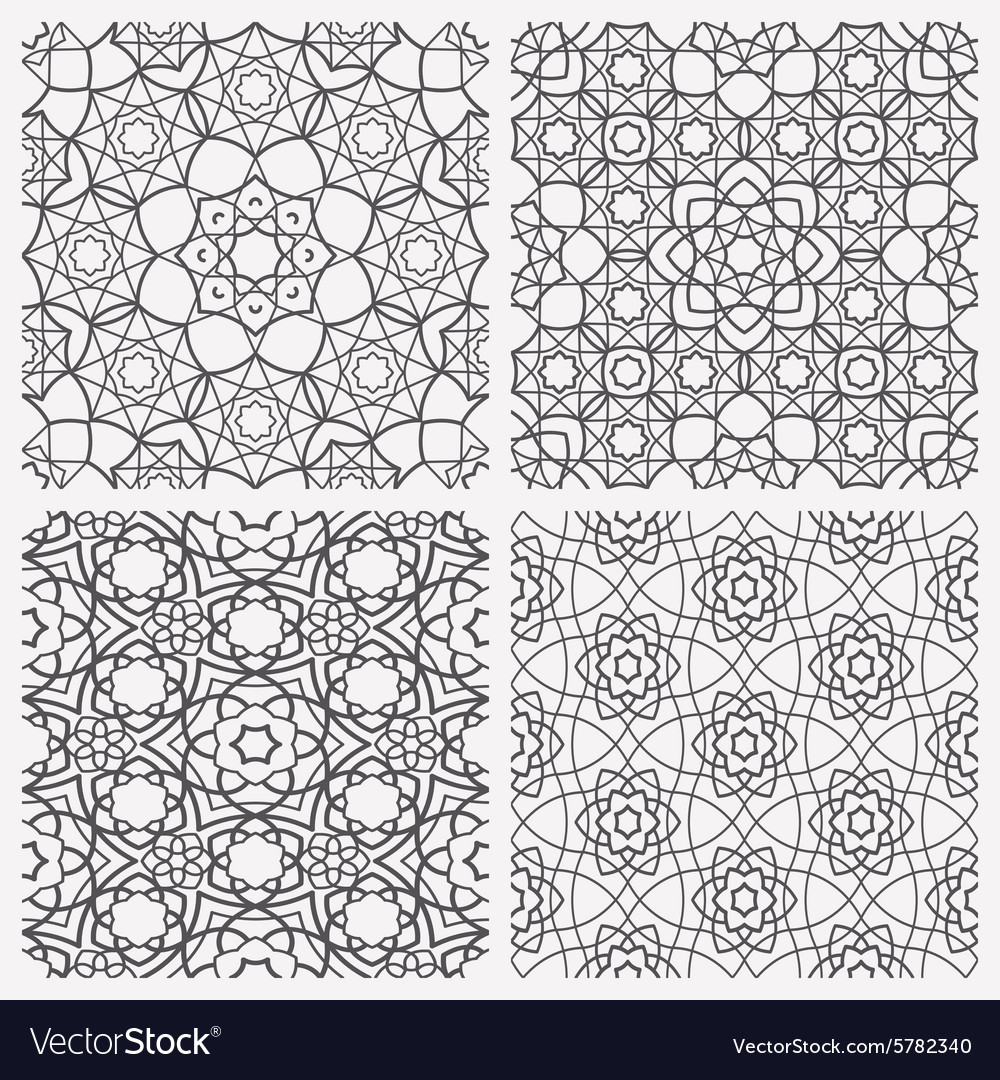 Islamic Seamless Patterns