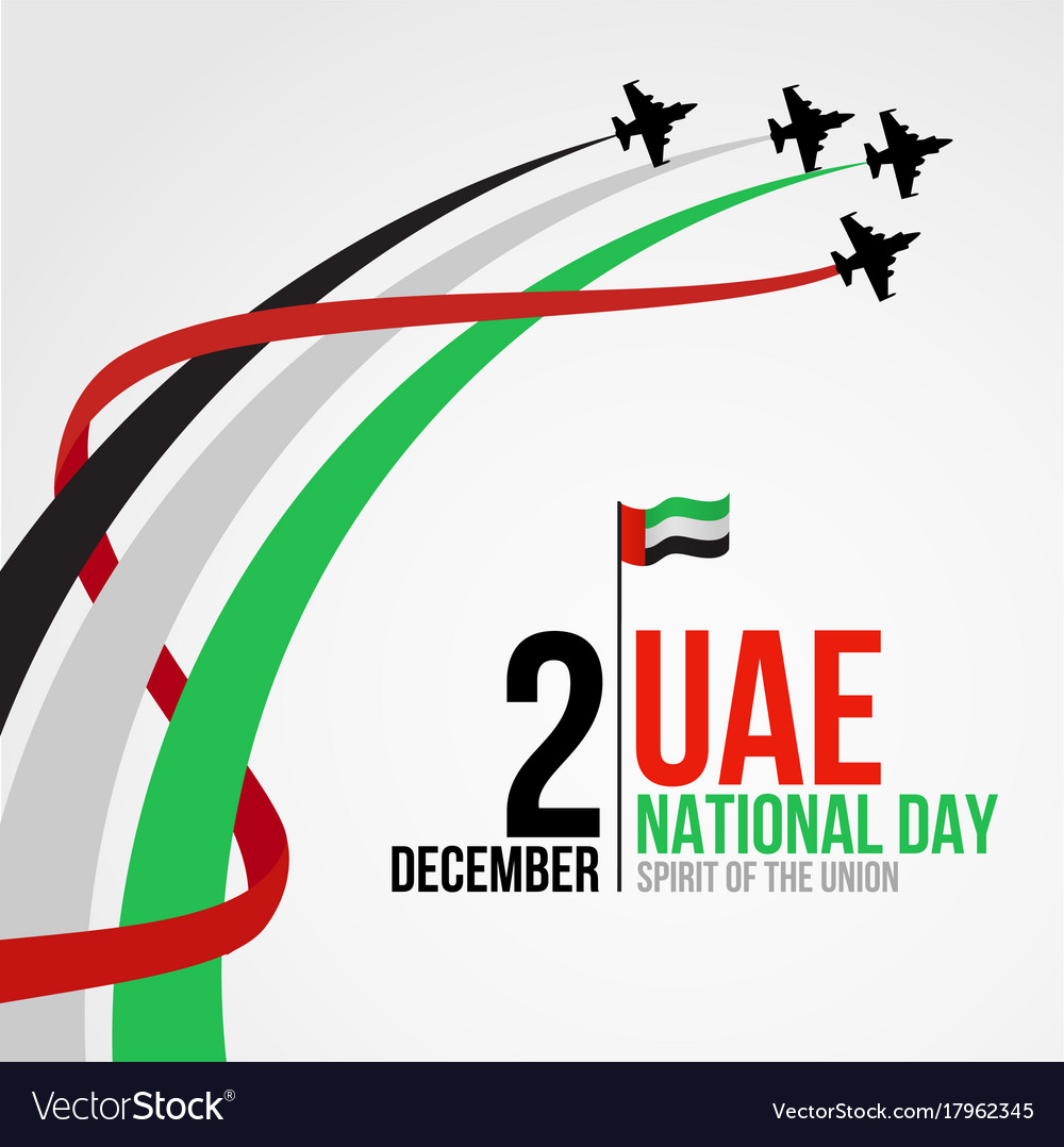 National Day Uae Vector Images Over 190