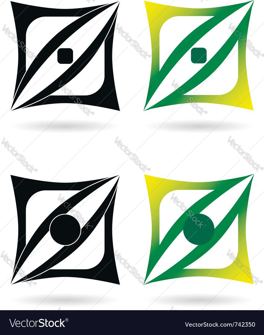 Design elements or logotypes