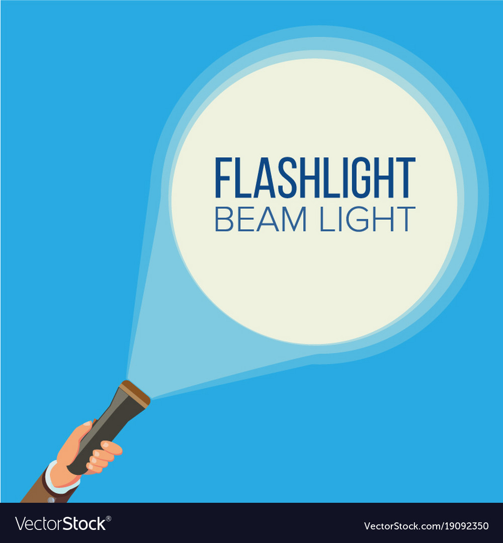 Flashlight and hand business web search
