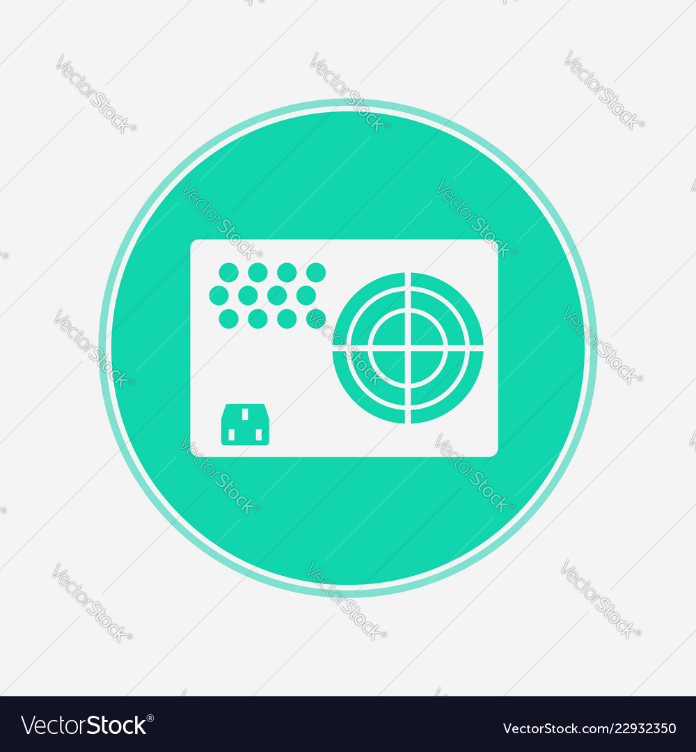Power Supply Icon Sign Symbol Royalty Free Vector Image